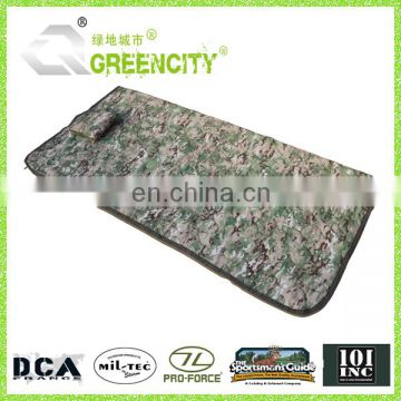 Camo Tactical Rip-Stop Poncho Liner Military Blanket With Zipper
