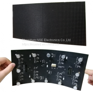 Flexible LED Display, flexible led display screen, Creative soft led display, 3D LED display