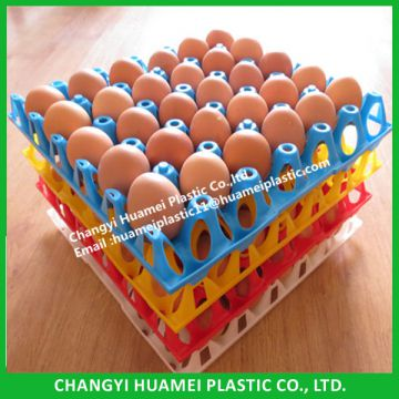 Plastic egg tray