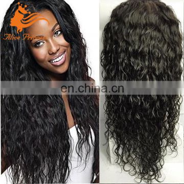 Qingdao Hair Factory 7A Grade Remy Human Hair Lace Front Wig Loose Curly Wholesales Best Price Tina Turner Human Hair Wig