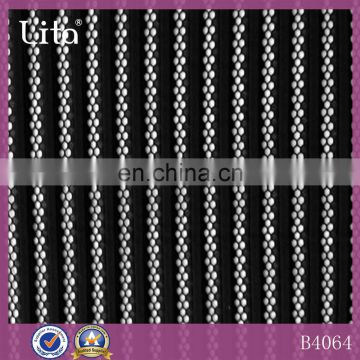 Autumn and winter fashion striped mesh lace fabric for lady dresses