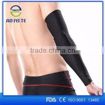gym equipment shijiazhuang aofeite elastic uv cheap baseball arm sleeve cover cycling golf