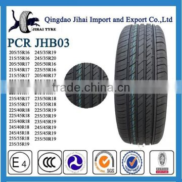 245/35R20 China tyre factory radial tubeless SUV car tire