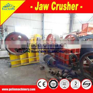 Dressing machine jaw crusher plant