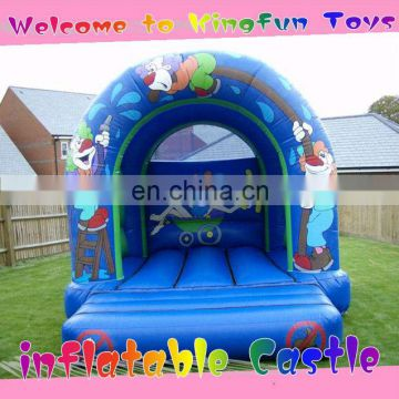 Clown inflatable bouncy castle for kids
