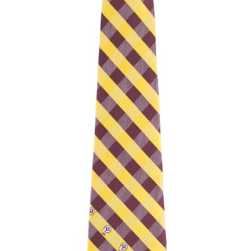 Self-tipping Brown Polyester Woven Necktie Self-fabric Standard Length