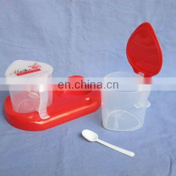 condiment container set,plastic condiment set,mini condiment set