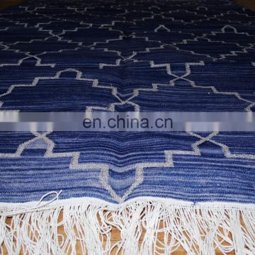 "60x36"" Hand Woven Floor throw Carpet_handloom Area rug"