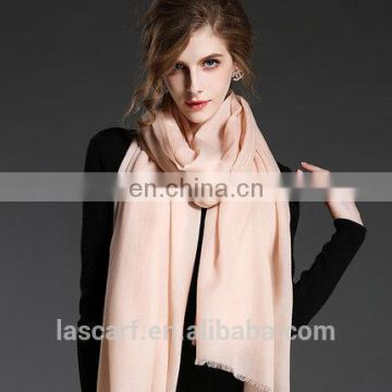 Pure color cashmere scarf shawl
