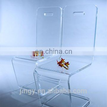 high end restaurant furniture lucite stool high chair