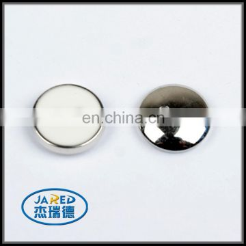 round shape 4 holes metal button for garments custom clothing button
