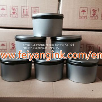 Cyan sublimation offset printing ink for fabric printing