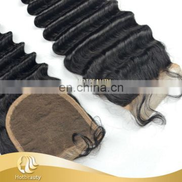 For Beauty Hair Salon Hair Stylelist Virgin Hair Ocean Wave Lace Closure