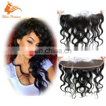 2016 Top Quality Factory Made Virgin 7A Grade Brazilian Hair Weave Lace Frontal Closure