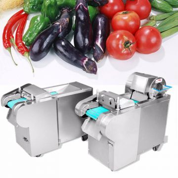 Eggplant Western Food Tomato Chopper Machine