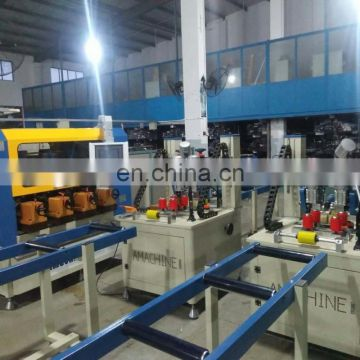 Amachine thermal break profile assembly line-knurling machine