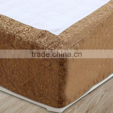 good quality fit spring single size home polyester bed skirt