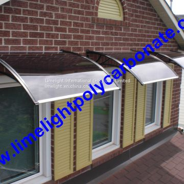 Polycarbonate Window Awning, Window Canopy, Window Shed, Window Covering, Door  Awning, ...