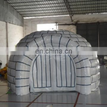 air-tight inflatable igloo tent