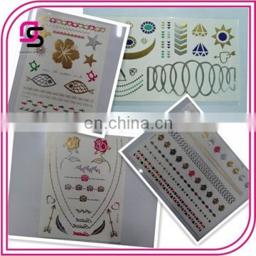 2015 Trends Temporary Tattoo Sticker