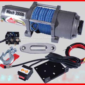 3500LBS 12V 24V DC Self Recovery Electric Winch/mini electric winches/electric winch