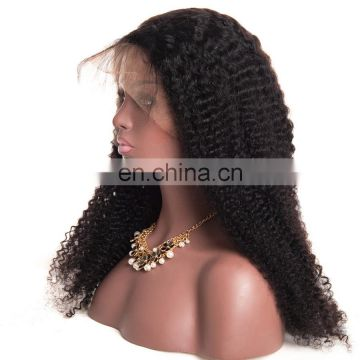 Afro kinky curly full lace wigs 180% density full lace wig