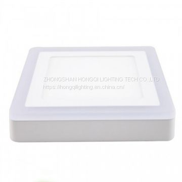 CHINA CHEAPEST HIGH LUMEN TWO COLORS LED PANEL LIGHT 6+3W WITH PRICE