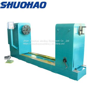 Medium Heavy Duty Flat Wire Coiling Winder Transformer Coil Winding Machine