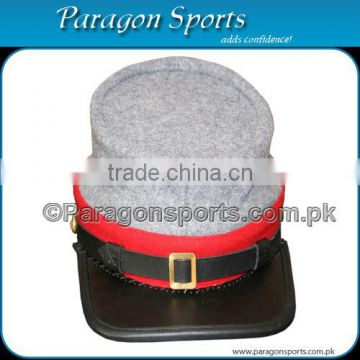 Military Civil War Kepi Confederate Artillery with Leather Visor