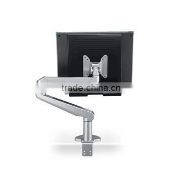 Gas Spring Desk single LCD monitor arm