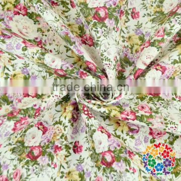 100% Cotton unique flowers floral pastoral Fabric DIY Sewing,Cushions clothes Bedding Textile Crafts cloth