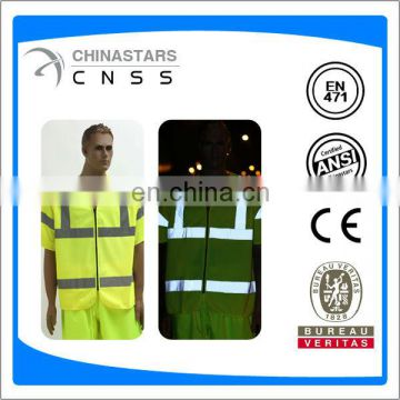 safety vest with short sleeve