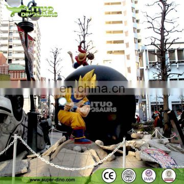 City Landscape Decoration Cartoon Comic Frp Figures