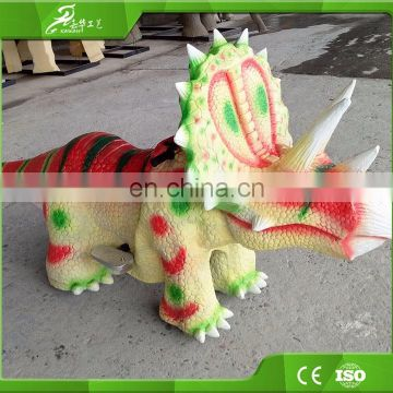 KAWAH The Most Enjoyable Playground Equipment Dinosaur Electric Toy Car For Kids
