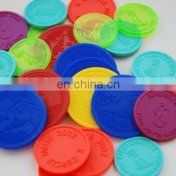 Affordable reusable promotional game token coin