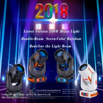 New design 2018 sharpy 260W moving head light,moving head light,moving head light for stage club dj