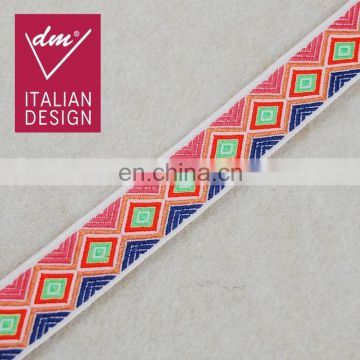 Cheap design fashion embellishments colorful lace tape trim