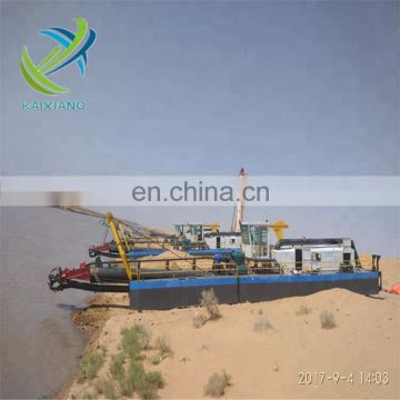 2018 Hot newest small  cutter suction dredger in sale with 100m3/h capacity