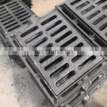 trench grate iron cover