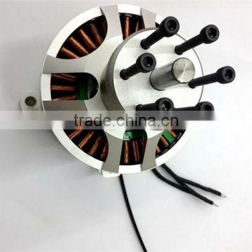 154120 45KW 75Nm sensored outrunner brushless motor for electric
