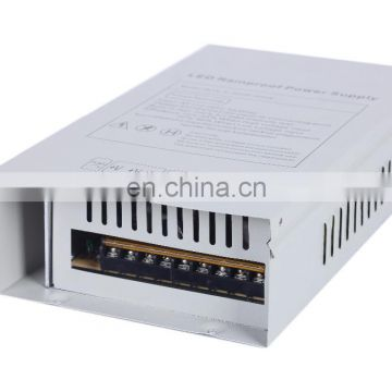 420W 35A Rainproof / Waterproof LED Power Supplies Industrial Low Ripple