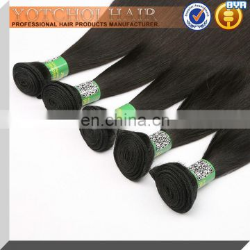 Unprocessed Human Hair 5 Bundles Remy Virgin Cheap Brazilian Hair Weave Bundles