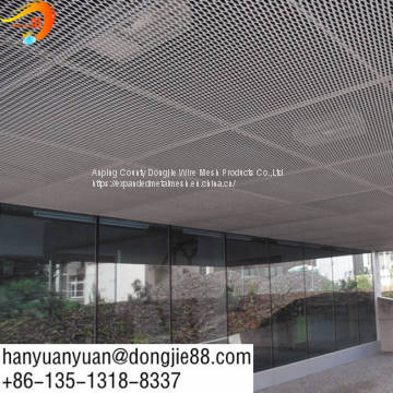 building expanded metal mesh ceiling