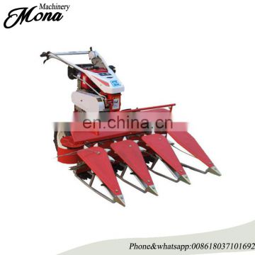Diesel engine hand walking tractor wheat and rice harvester/reaper binder