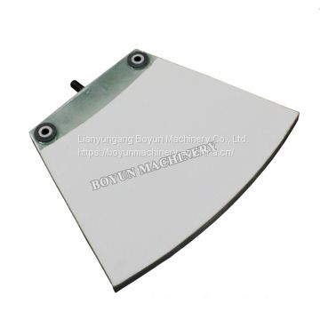 White High Skeleton Density Porous Sewage Treatment Ceramic Filter Plate