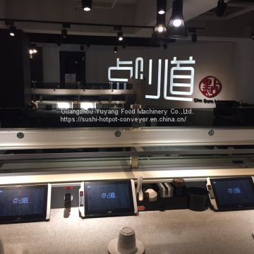 Conveyor belt sushi system sushi conveyor belt  dim sum conveyor factory
