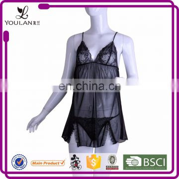 2015 Wholesale Elegant Mature Women Polyester Women Lingerie Having Sex Very Sexy Hot Lingeries