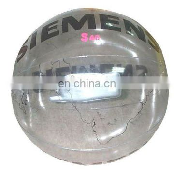 inflatable transparent beach ball