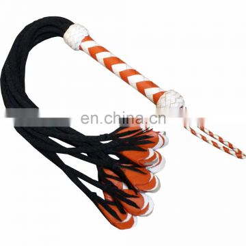HMB-509C LEATHER COSTUME BDSM FLOGGER NINE O CAT NOVELTY WHIPS BONDAGE SPANKING