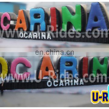 15m long Giant inflatable letters For advertising